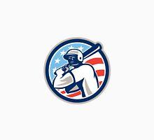 American Baseball Batter Hitter Circle Retro Unisex T-Shirt