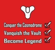 Destiny Become Legend Checklist Kids Clothes