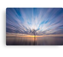 Beachmere Sunrise Canvas Print