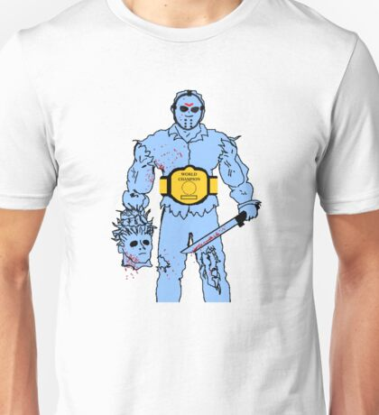Jason Wins NES Unisex T-Shirt
