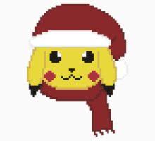 Santa Pikachu Kids Clothes