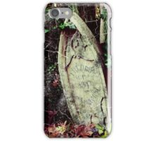Freddy's Final Resting Place iPhone Case/Skin
