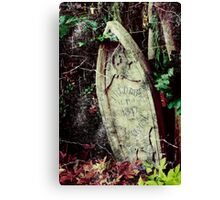 Freddy's Final Resting Place Canvas Print