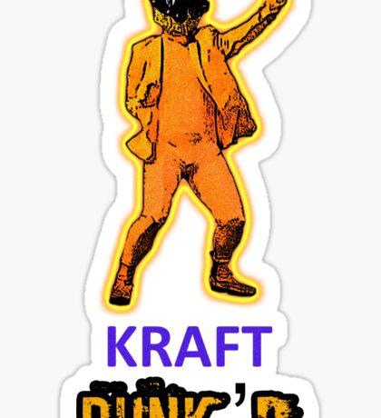KRAFT PUNK'D Sticker