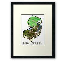 Garden State V.2 Framed Print