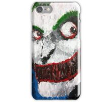 Palette Knife Joker iPhone Case/Skin