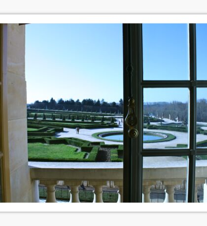 Chateau Versailles Sticker
