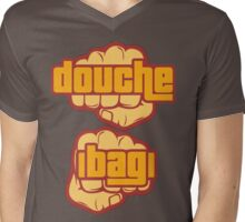 Douche Bag Mens V-Neck T-Shirt