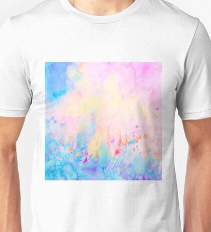 Watercolor Abstract Landscape Art Print Unisex T-Shirt