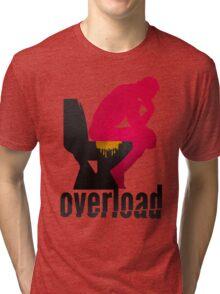 Shit Overload Tri-blend T-Shirt