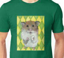 Say Cheese; Selfie Hamster Unisex T-Shirt