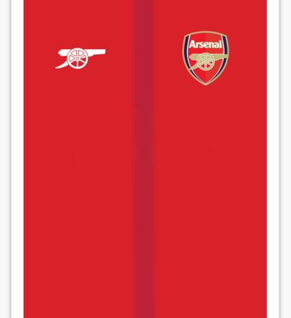Arsenal Home Kit style Sticker