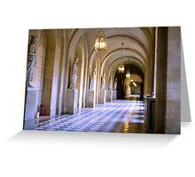 Versailles Interior Greeting Card