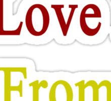 The Woman I Love Is From Cameroon  Sticker