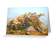 FROM 'ANCIENT' LEGEND ~ THE CUTTLEFISH! Greeting Card