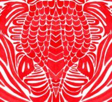 Red Goldfish Sticker