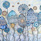 Winter flowers by Sviatlana Kandybovich