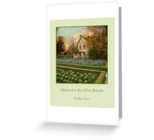 The Hameau of Queen Marie Antoinette Greeting Card