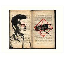 Wittgenstein's beetle in a box Art Print