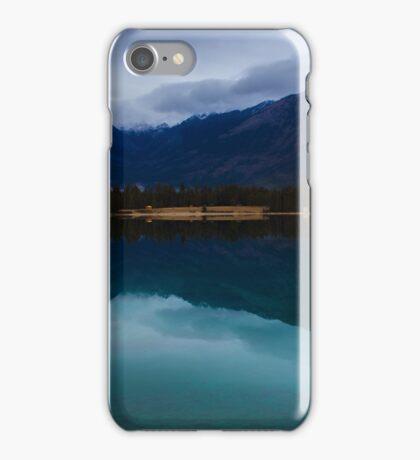 Lake Annette in November iPhone Case/Skin