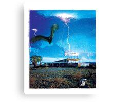 Lost Motel Canvas Print