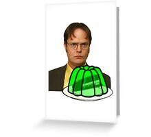 Dwight Stapler In Jello - The Office Greeting Card