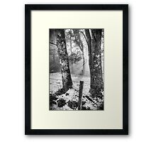 Peace Beyond... Framed Print