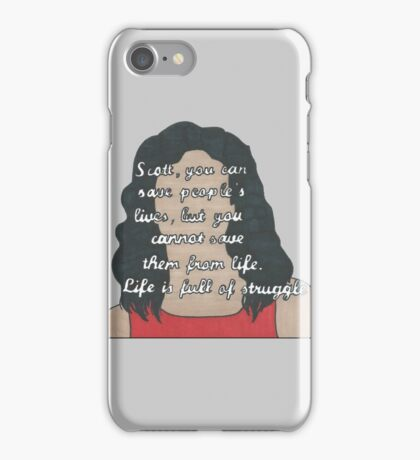 Mama McCall Quote- Number Three In a Series iPhone Case/Skin