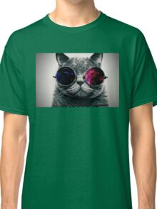 Space Glasses Cat Classic T-Shirt