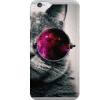 Space Glasses Cat iPhone Case/Skin