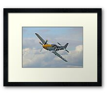 P51 Mustang Ferocious Frankie - Dunsfold 2014 Framed Print