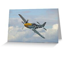 P51 Mustang Ferocious Frankie - Dunsfold 2014 Greeting Card
