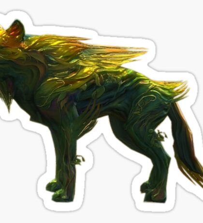 Guild Wars 2 Fernhound Sticker