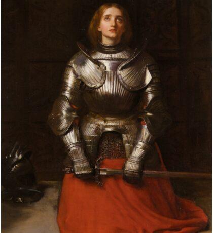 Joan of Arc - John Everett Millais - 1865 Sticker