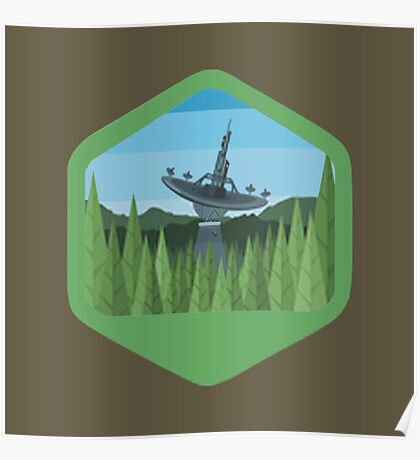 Star Wars Original Emblem Set - V8 - Endor Poster