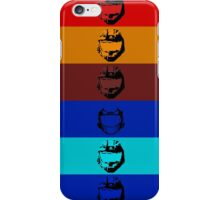 Red vs. Blue (group one) iPhone Case/Skin