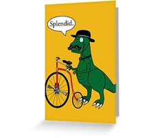 Splendid Find Greeting Card