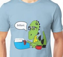 Hipsterasaurus Unisex T-Shirt