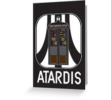ATARDIS Greeting Card