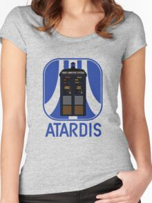 ATARDIS Women's Fitted Scoop T-Shirt