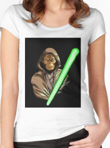 Star Wars of the Planet of the Apes Women's Fitted Scoop T-Shirt