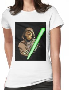 Star Wars of the Planet of the Apes Womens Fitted T-Shirt