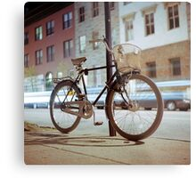City Bicycle Metal Print