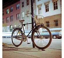 City Bicycle Photographic Print
