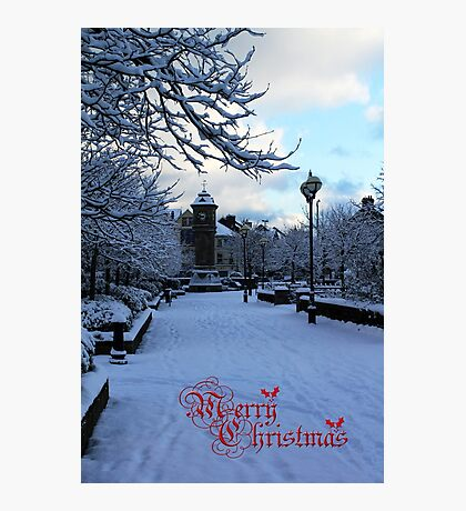Christmas Joy In Bangor Photographic Print