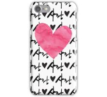 Sarang Love Heart Pink - Korean iPhone Case/Skin
