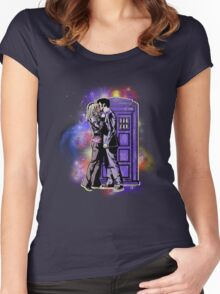 The Doctor With One Heart Women's Fitted Scoop T-Shirt