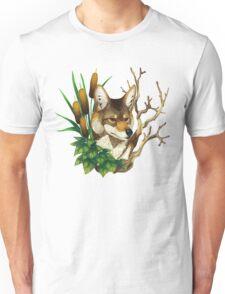 Marshdweller (Coyote Portrait) Unisex T-Shirt