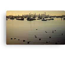 Williamstown Bay Canvas Print