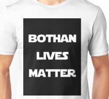 Bothan lives, White on black Unisex T-Shirt